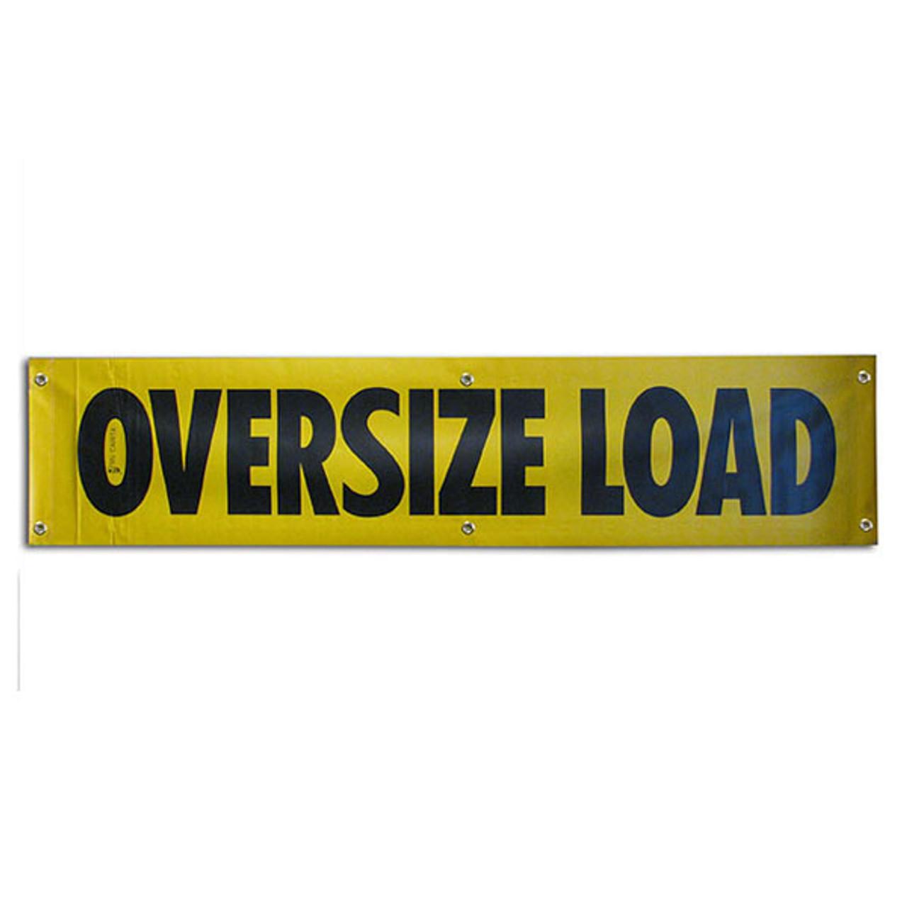 "OVERSIZE LOAD VINYL - 12""x60"""