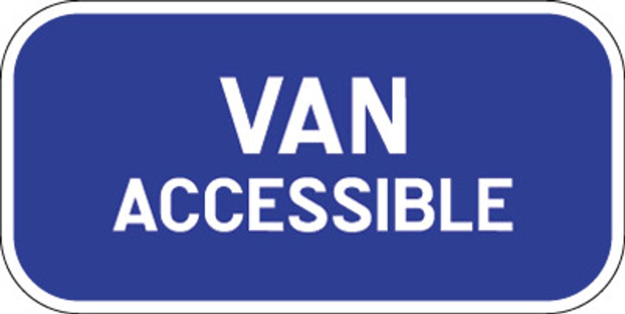 R7-8B VAN ACCESSIBLE SIGN