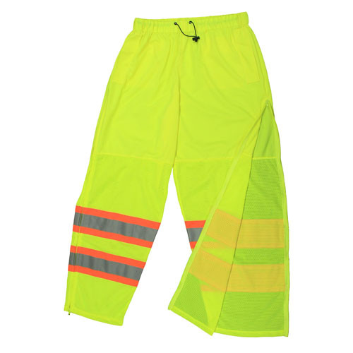 SP61 CLASS E MESH/SOLID PANT, ORANGE