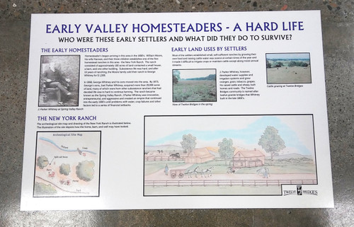 "24""x36"" HISTORICAL SIGN"