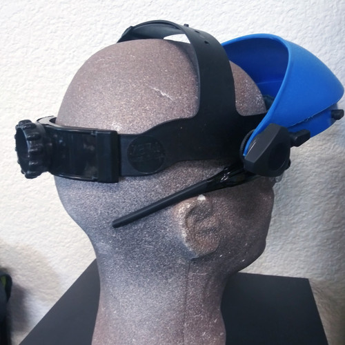 ADJUSTABLE HEAD BAND FOR FACESHIELD