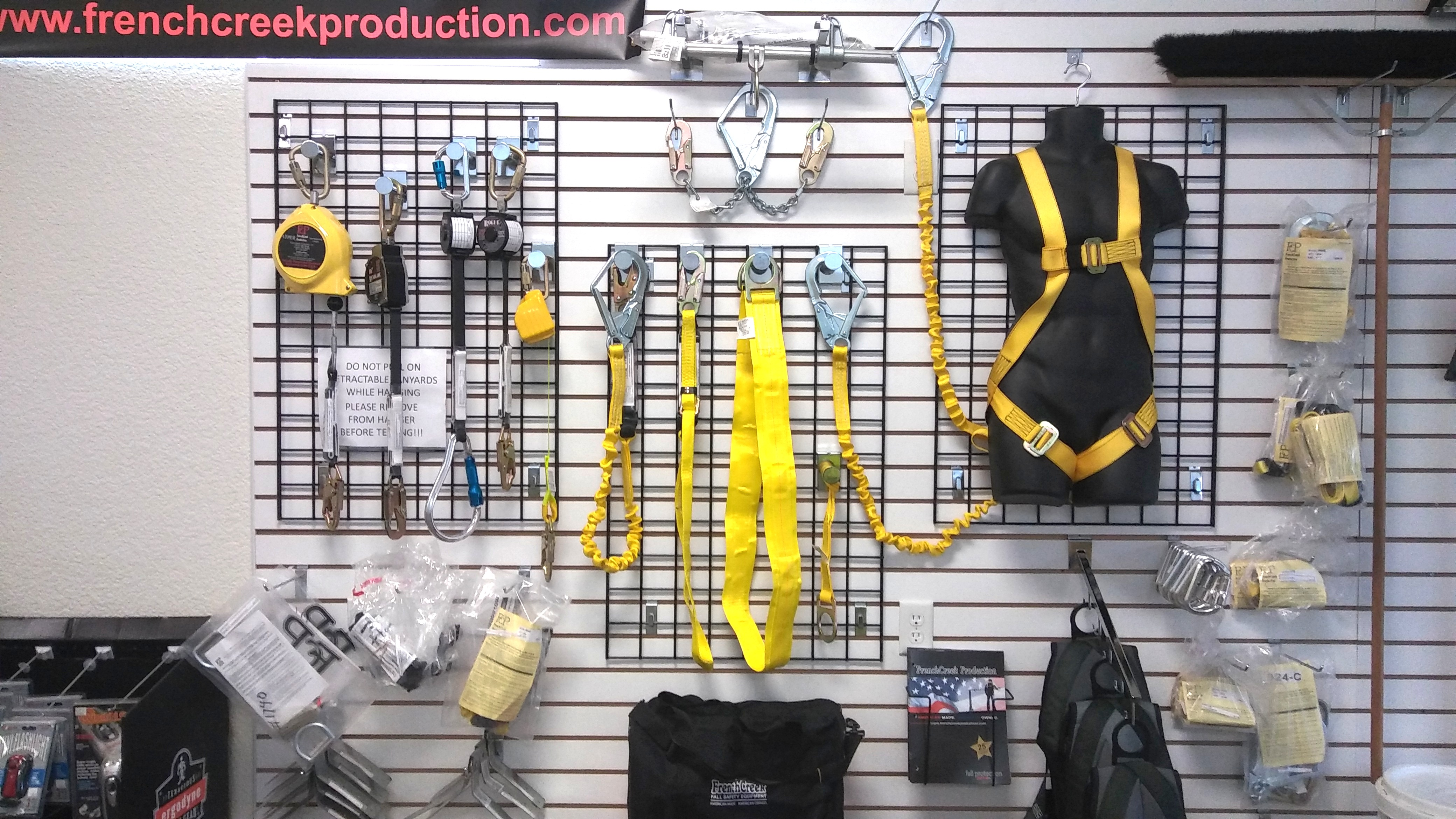 Fall Protection Display