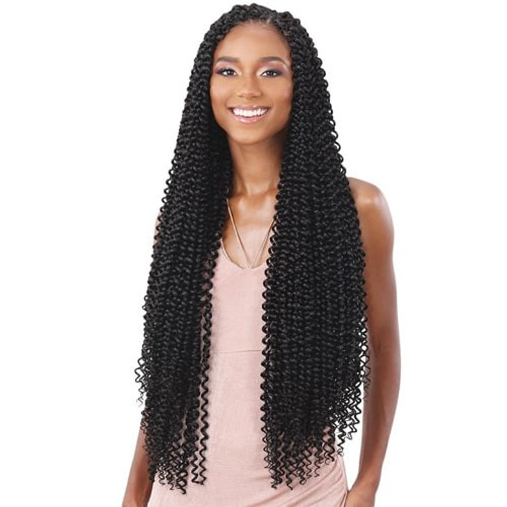 ModelModel Synthetic Hair Crochet Braids Glance Water Wave Extra Long
