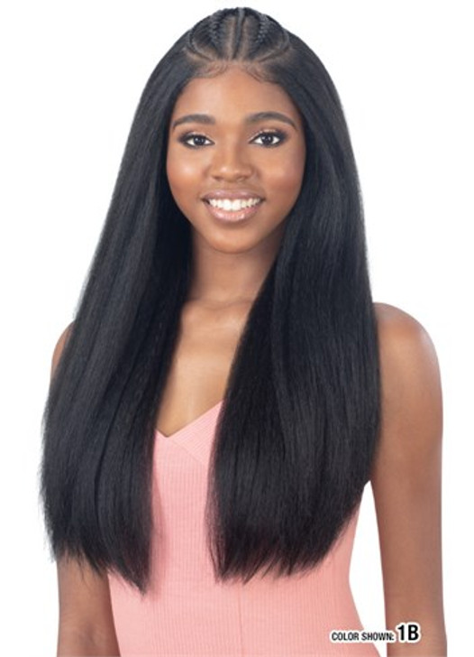 Model Model Synthetic Styled Braid 13X6 Lace Wig - CHAYLYN