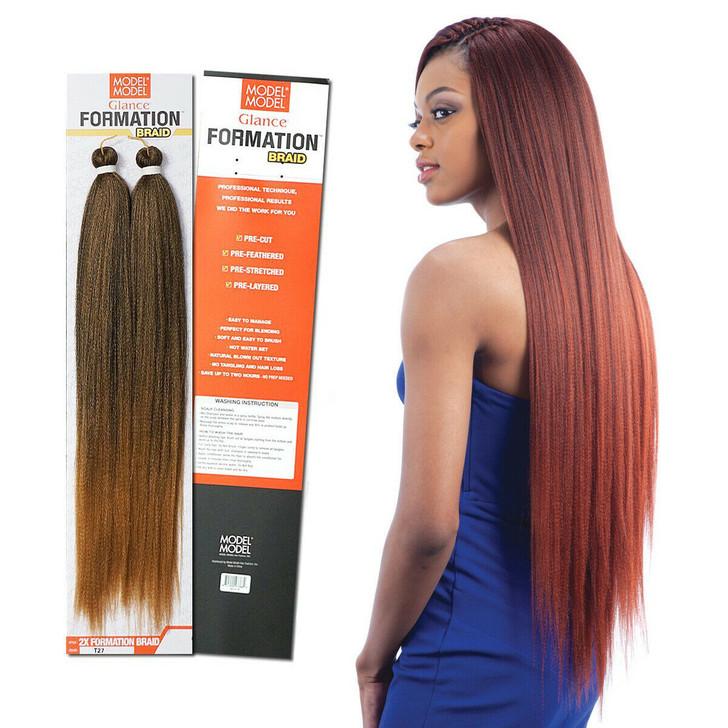 "Glance 2X Formation Braiding Hair 30"""