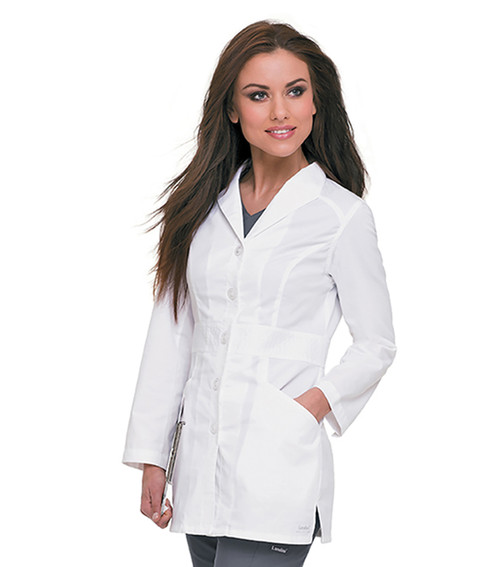 Womens Smart Stretch Signature Lab Coat