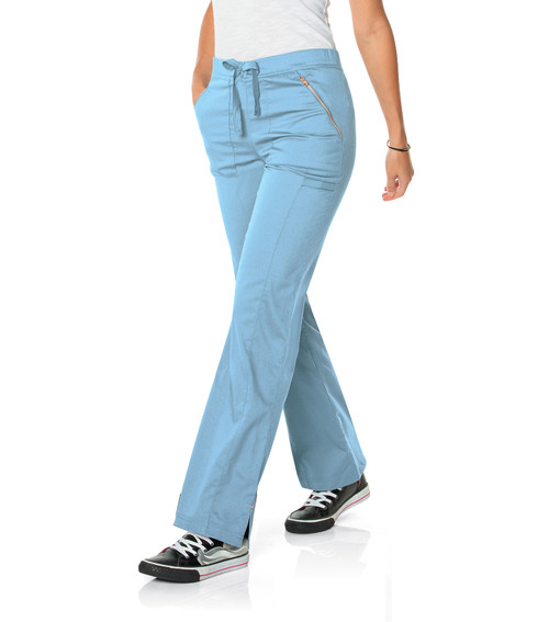 Womens Straight Leg Pant With Elastic