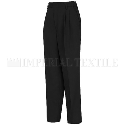 Women's Relaxed Fit Pleated Twill Slacks