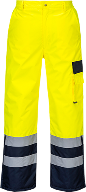 Hi-Vis Lined Contrast Trousers