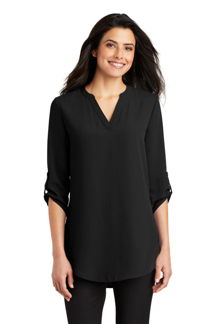 Port Authority - Ladies 3/4-Sleeve Tunic Blouse