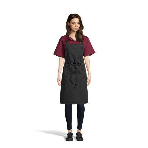 Pencil Patch Pocket Bib Apron by Uncommon Threads