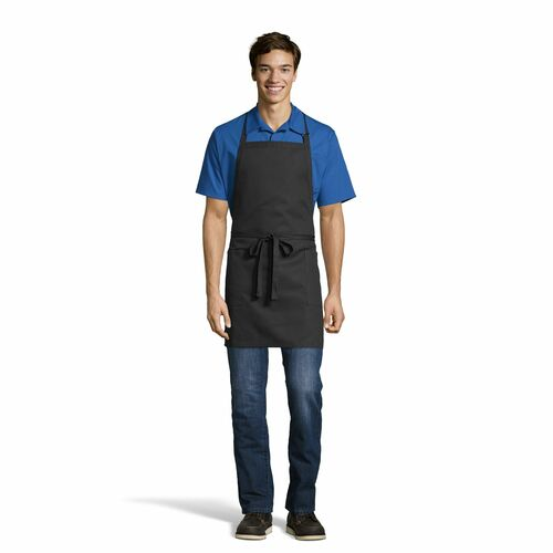 2 Patch Pocket Bib Apron by Uncommon Threads