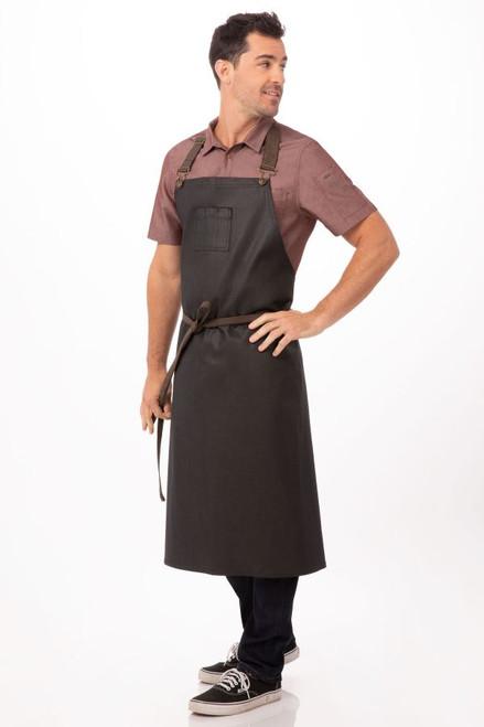 Boulder Chefs Bib Apronby Chef Works