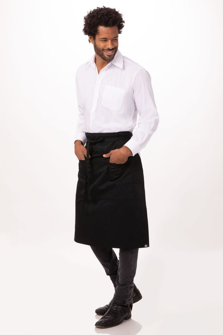Reversible Three Pocket Apronby Chef Works