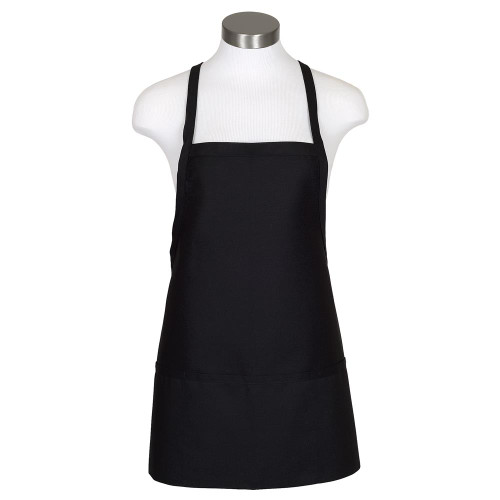 Criss-Cross Tie Bib Apron  3 Pockets