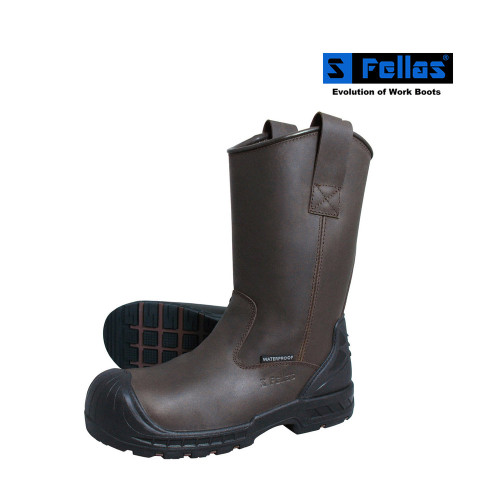 Men's Wellinton Comp Toe Waterproof Puncture Resistant Boots