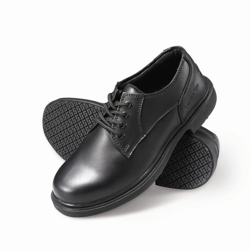 Men's Slip-Resistant Oxford Work Shoes