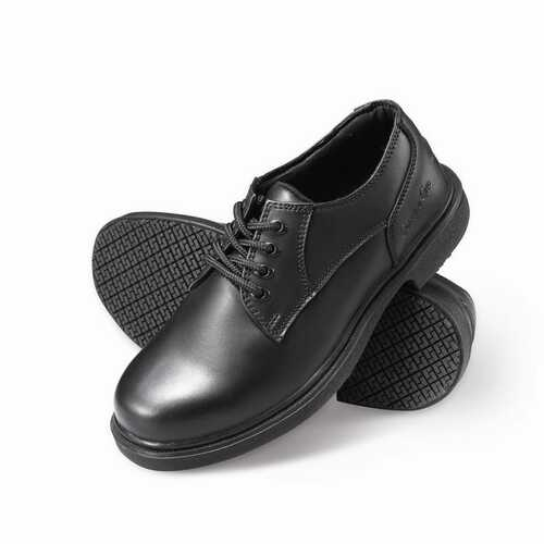 Men's Slip-Resistant Oxford Work Shoes