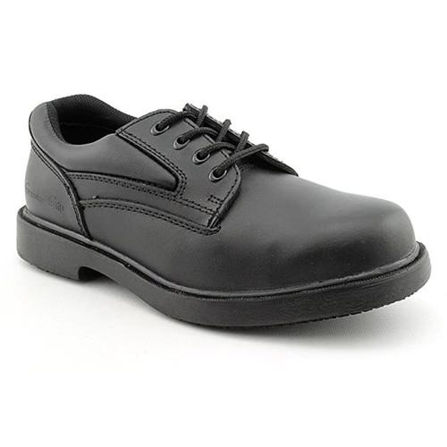 Men's Slip-Resistant Steel Toe Oxford Work Shoes