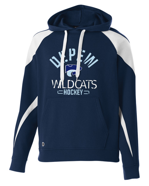 Depew Hockey Holloway Athletic Hooded Fleece with Imprint Logo