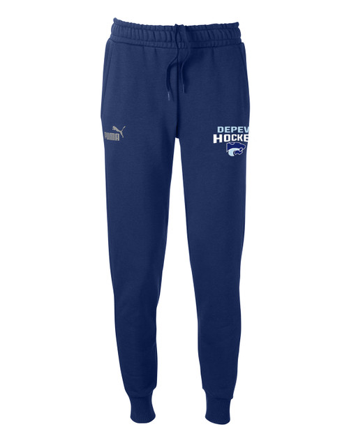 Depew Hockey Puma Essential Jogger Pant with Embroidered Logo