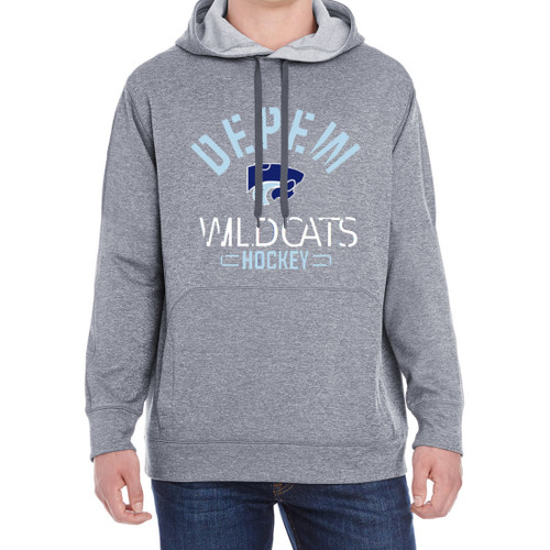 Depew Hockey Champion Performance Fleece Pullover Hoodie with Imprint Logo