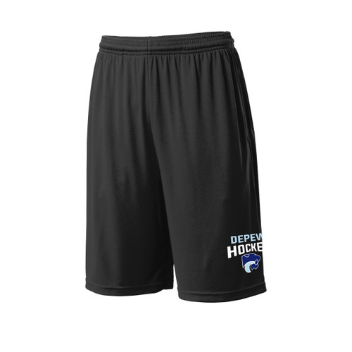 Depew Hockey Sport-Tek Pocket Short with Imprint Logo