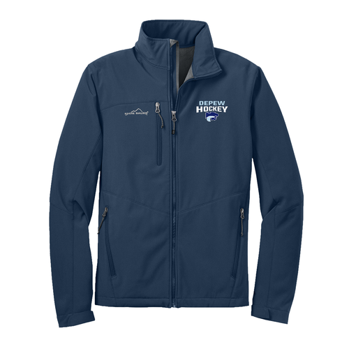 Depew Hockey Eddie Bauer Soft Shell Jacket with Embroidered Logo