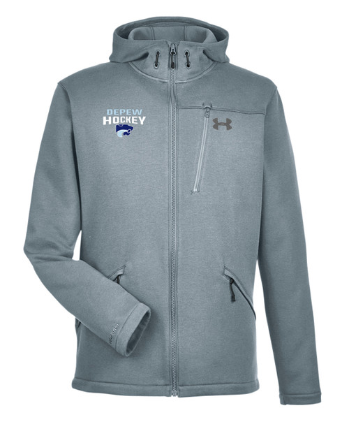 Depew Hockey Under Armour Seeker Hoodie with Embroidered Logo