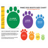 PAWZ Dog Boots Sizing Guide