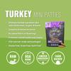 Vital Turkey Patties for Cats