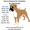 The Freedom No-Pull Harness- Royal Blue