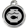 Red Dingo Enamel Tag Fishbowl
