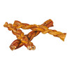 The Natural Dog Co Braided Bully Stick Odor Free
