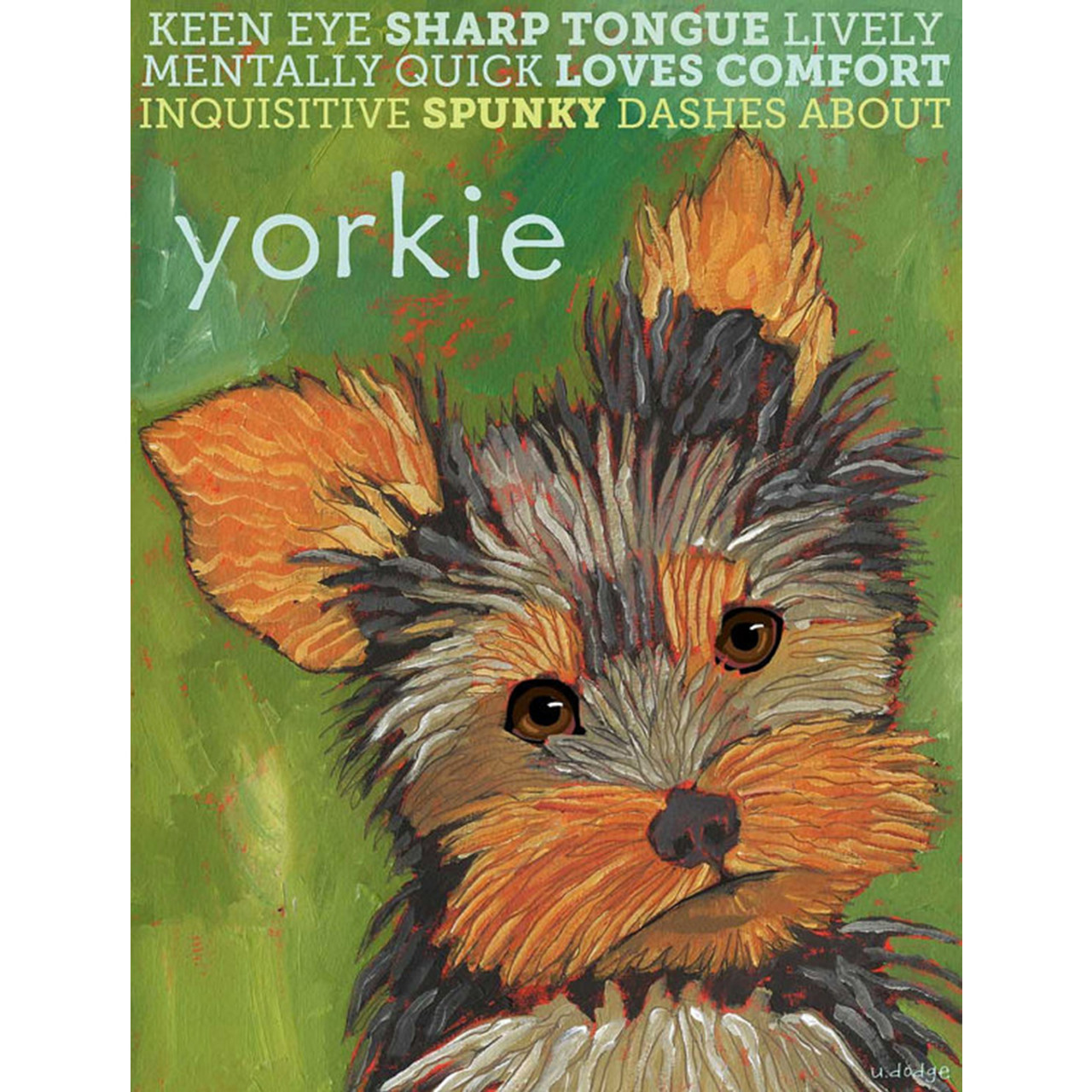 Yorkshire Terrier Magnets