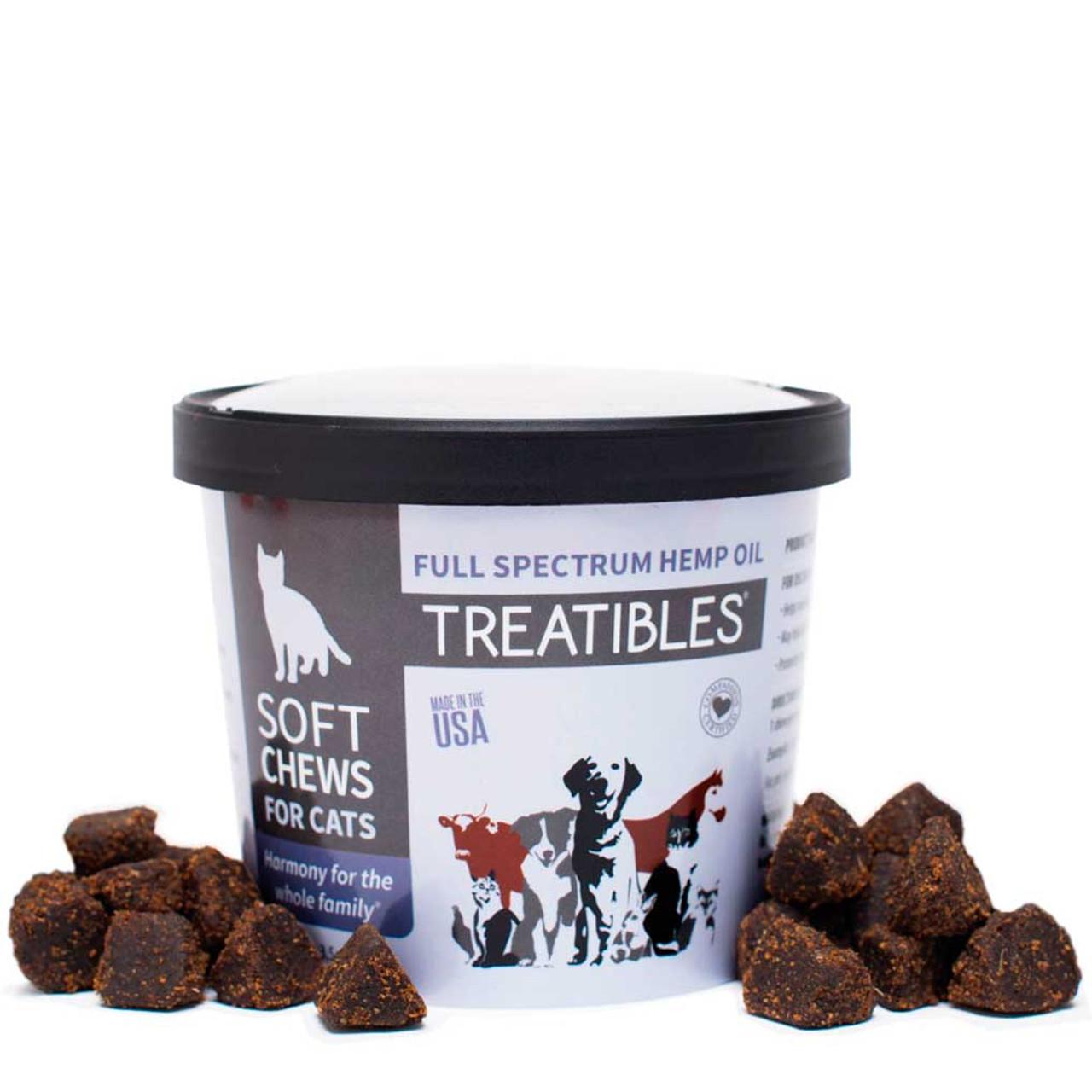 Treatibles CBD Treats | Soft Chews For Cats | hiphoundshop com