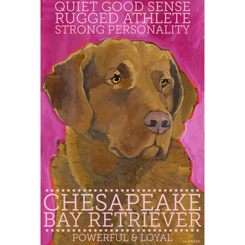 Ursula Dodge Chesapeake Bay Retriever Magnet
