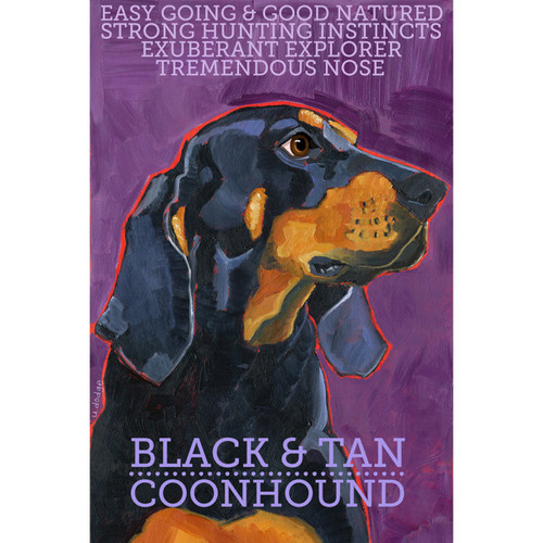 Ursula Dodge Coonhound Magnet