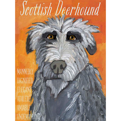 Ursula Dodge Scottish Deerhound