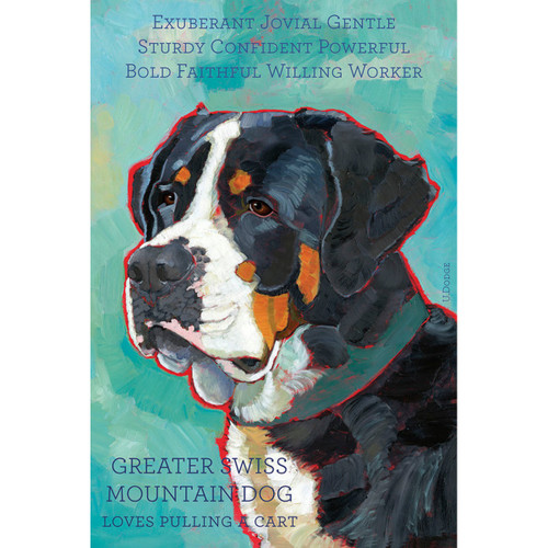 Ursula Dodge Greater Swiss Mountain Dog