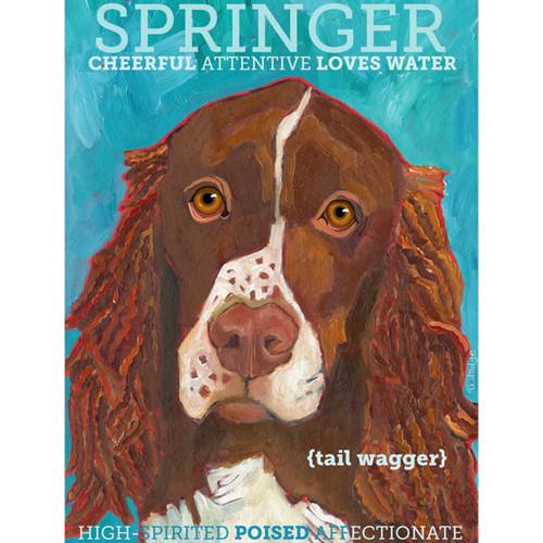 Ursula Dodge Springer Spaniel