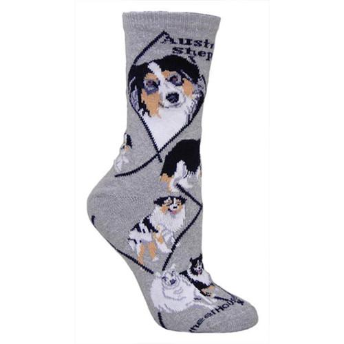 Wheel House Australian Shepherd Socks