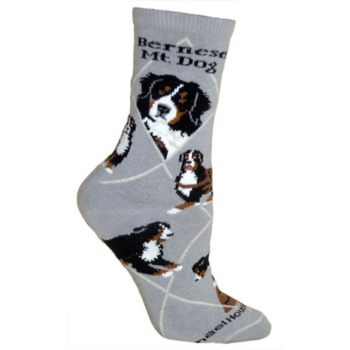 Wheel House Bernese Mountain Dog Socks