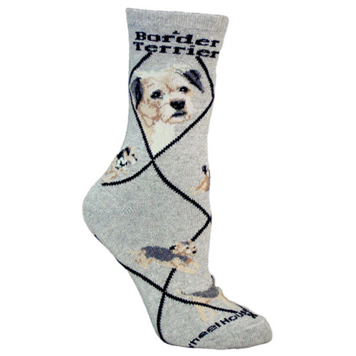 Wheel House Border Terrier Socks