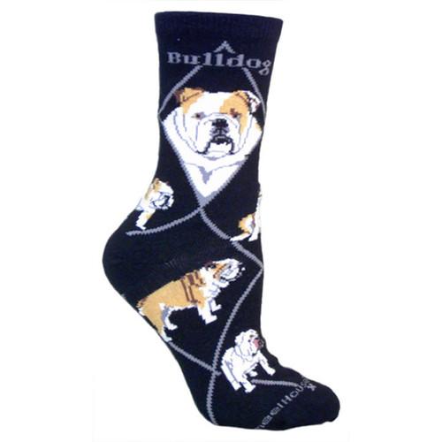 Wheel House Bulldog Socks