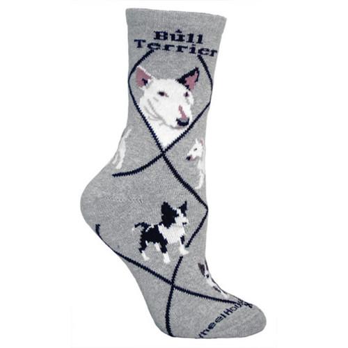 Wheel House Bull Terrier Socks