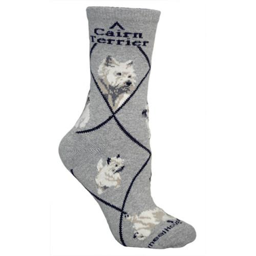 Wheel House Cairn Terrier Socks