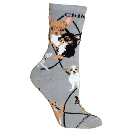 Wheel House Chihuahua Socks
