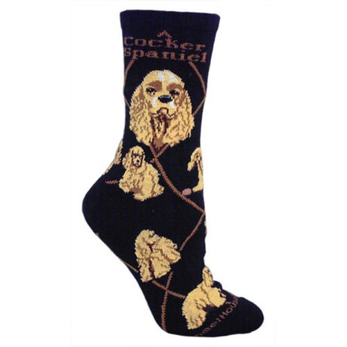 Wheel House Cocker Spaniel Socks
