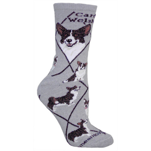 Wheel House Corgi Socks